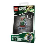 LEGO Boba Fett LED keychain