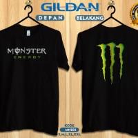 Kaos monster energy-Kaos original gildan softstyle mne02