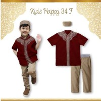 Jual beli busana/pakaian/baju muslim anak laki-laki 1 2 3 4 5 ABS4663