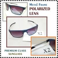 Kacamata Hitam Sunglass X2 metal polarized