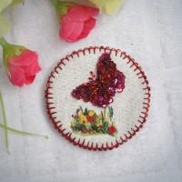 Bros Sulam Manik / Bros Kebaya / Bros Jilbab / de embro bros handmade