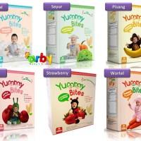 Jual Yummy Bites Baby Rice Crackers / Snack Bayi / Biskuit Bayi Murah