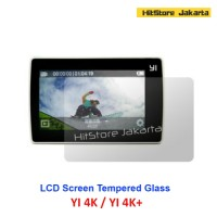 Jual Anti Gores YI 2 4K Tempered Glass LCD Screen Protector Xiaomi YI 4K+ Murah