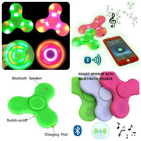 FIDGET SPINNER BLUETOOTH SPEAKER LED