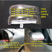 mika kaca lampu sein cover spion all new vios yaris camry altis (set)