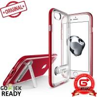 Spigen iPhone 7 Case Crystal Hybrid - Dante Red