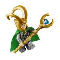 Lego LOKI minifigure from 1072q set