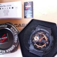 Jam Casio Gshock GA110 chrono aktif black