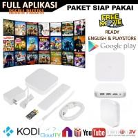 Jual [ ROOT + ENGLISH + FULL APLIKASI ] Xiaomi MI BOX Hezi 3s 3 PRO 4K Murah