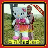 boneka hello kitty pink jumbo besar