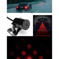 Lampu Mobil | Car Universal Aluminium Rear Laser Fog Light Taillight