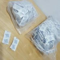 Silica Gel Putih Murah 1 kg Food Grade, Kemasan 5 gram (200 Sachet)