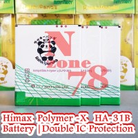 Baterai Himax Polymer X Double Power Ic Protection Garansi 1 Tahun