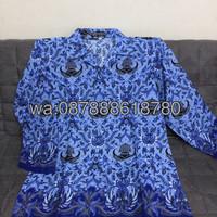 Jual baju batik korpri Murah