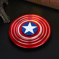 Jual Fidget spinner Hand spinner PREMIUM Captain America Motif Murah
