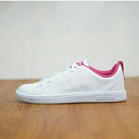 Adidas Advantage Clean White Fadding Pink