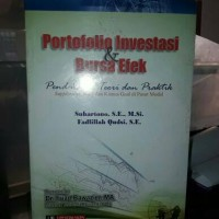 Buku Portofolio Investasi dan Bursa Efek Pendekatan Teori da   ORIG