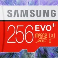 Samsung Micro SD Card 256 GB EVO Plus + Class 10 MicroSD 256GB 95MB/S