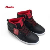 BATA B.FIRST Sepatu Sekolah Anak Boots Tali Warna Hitam