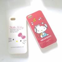 Case iphone 5s 5 hello kitty soft jacket lucu
