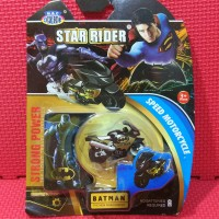 Mainan Motor Moto GP Mini Batman Spin GO Pull Back Murah Meriah