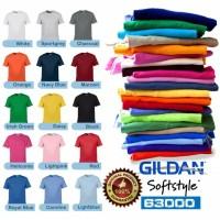 Jual Kaos Polos Gildan Softstyle Import Original 100% / Size : S M L XL Murah