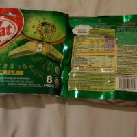Jual nestle Kitkat green tea isi 8pack Wafer Teh Hijau wafer green tea Murah