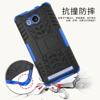 Rugged Armor Casing Lenovo A 7700/ A7700 Kickstand Hard Soft Case
