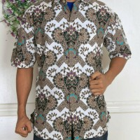 atasan kemeja pria heru batik super hc