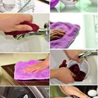 Kain Lap Tangan Microfiber Halus Handuk Hand Towel Lembut Kanebo Mobil