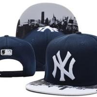 harga Topi Snapback New York Yankees Ny Navy Blue Dongker New Era Import Tokopedia.com