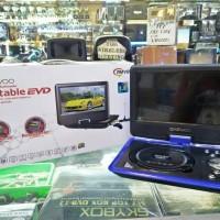 TV Dan DVD portable daewoo 9,8 inc