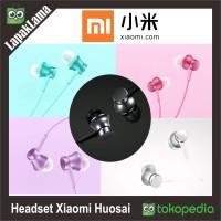 HEADSET HANDSFREE XIAOMI MI PISTON HUOSAI ORIGINAL 100% EARPHONES ORI