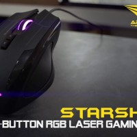 ARMAGGEDDON NRO-5 STARSHIP III - RGB Gaming Mouse-New 2017 Edition