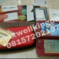 Jual New 3ds XL 2nd red Murah