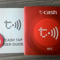 Sticker T-CASH / TCASH TAP dari telkomsel simpati AS MURAH