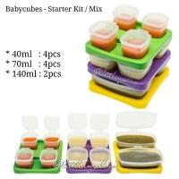 Babycubes Baby Cubes Starter Kit Mix 40ml 70ml 140ml Mpasi