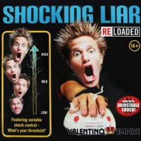 Polygraph Shocking Liar Micro Electric Shock Lie Detector Truth Game