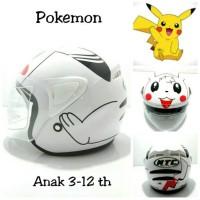 harga Helm Anak Pokemon Ntc Putih Tokopedia.com