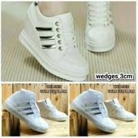 harga Sepatu Sneakers Hidden Wedges Replika Adidas Cewek Tokopedia.com