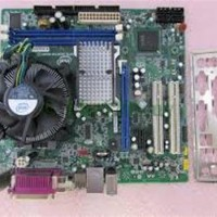 MOTHERBOARD G41 DDR3 + PROCESSOR QUAD CORE Q6600 + FAN PAKET