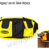 harga Tool Bag Pinggang 1 Pcs Mdl. Sabuk Prohex  4410-005 Tokopedia.com