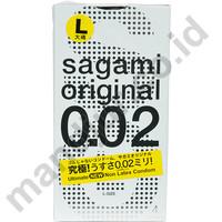 Kondom Sagami Original L-Size (Large Size) - Isi 4