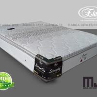 springbed kasur matras elite serenity pillowtop 120 x 200