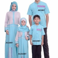 Baju Anak Muslim Koko  Kaos Lengan Pendek AKA 10 Umur 0, 2, 4, 6