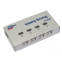 USB Sharing Switch for USB Printer 4 Port