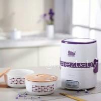 Jual Peralatan MPASI Wajib Bear Porcelain Timer / Slow Cooker / Lunchbox Murah