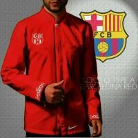 Baju koko barcelona Red
