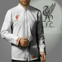 Baju koko bola Liverpool white