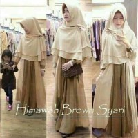 hijab himawah brown